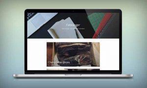 简单单栏图片类wordpress个人博客模板Jaguar