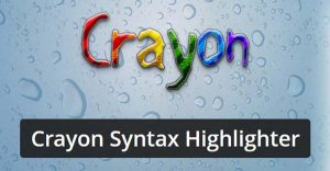 wordpress高亮代码显示插件Crayon Syntax Highlighter